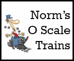 Norm's O Scale Trains